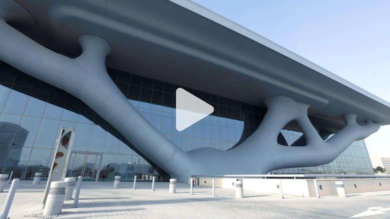 مبنى يشبه الشجرة يقلل من استخدام الطاقة بنسبة 35 بالمائة بقطر