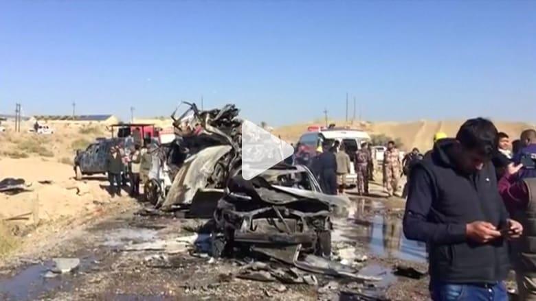 مقتل وإصابة 22 شخصا في تفجيرين بسامراء وتكريت