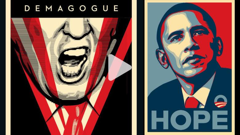 هذا الفنان رسم أوباما وترامب.. ولكن ما سر عدم قدرته على رسم هيلاري