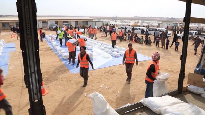 جهود دولية مكثفة لإيصال المساعدات الغذائية إلى الموصل