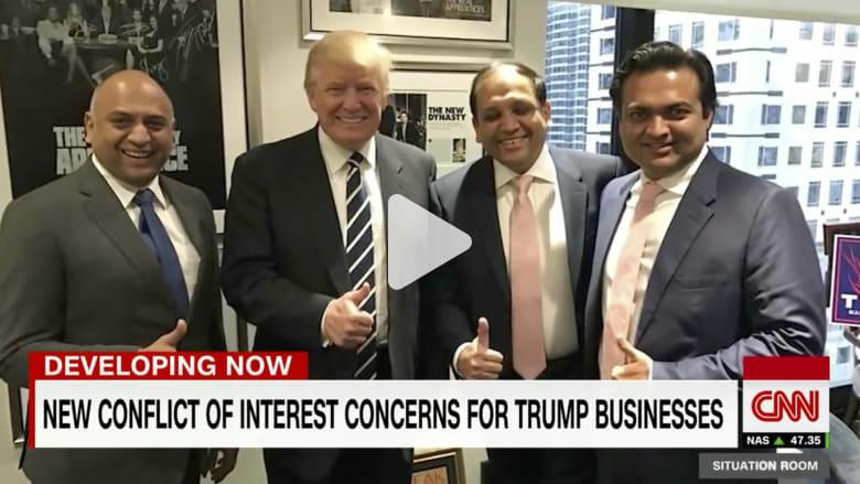 ثروة ترامب الرئيس: هل عليه بيع كل شيء؟