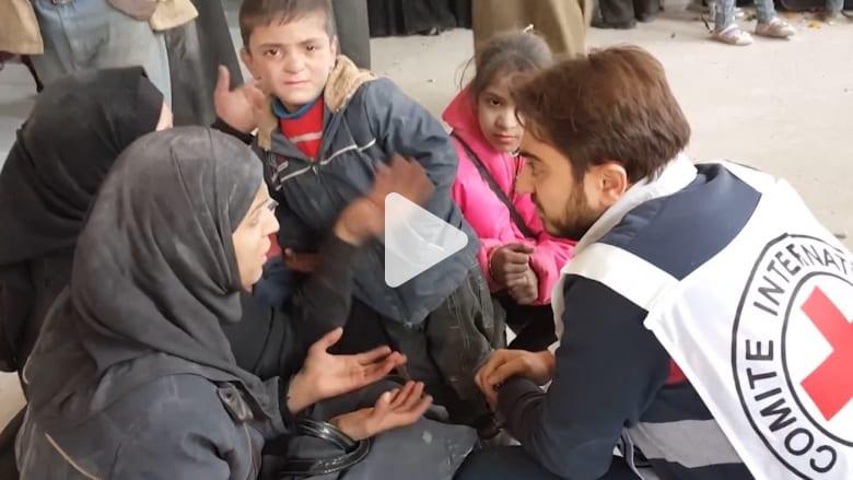 مصنع مهجور في جبرين يتحول إلى ملجأ للنازحين من شرق حلب