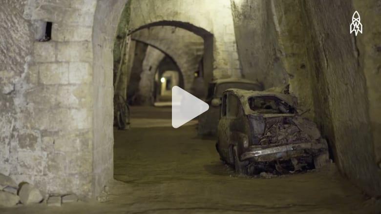 نفق تحت الأرض يخفي أسرار مدينة نابولي