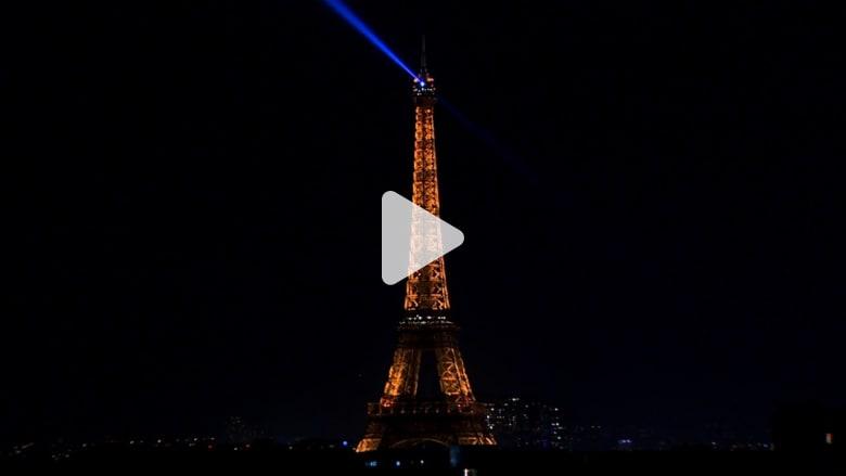 إطفاء أنوار برج إيفل تضامنا مع حلب