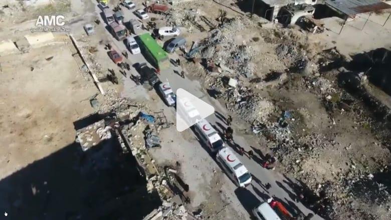 الصليب الأحمر: إجلاء 3 آلاف شخص من شرق حلب