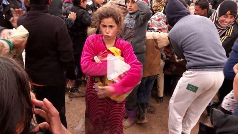 الهروب من الموصل.. بين جحيم القتال وقسوة حياة اللاجئين
