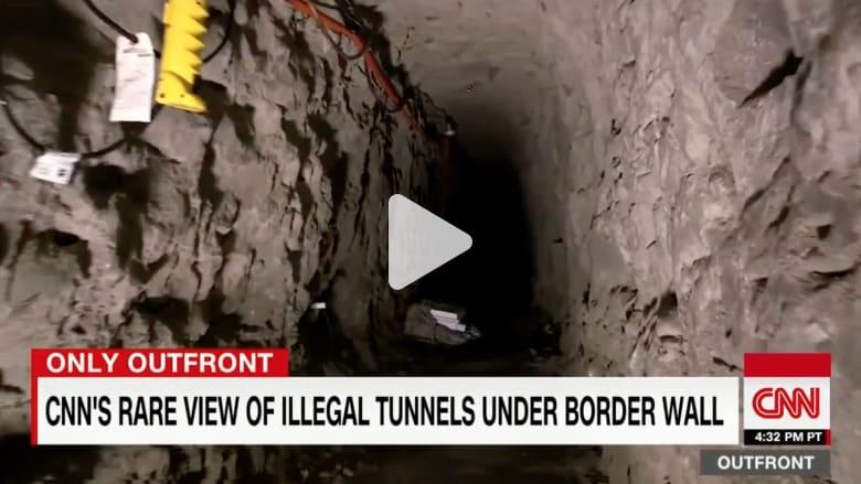 جولة نادرة لـCNN داخلها.. كيف تبدو أنفاق التهريب بين أمريكا والمكسيك؟