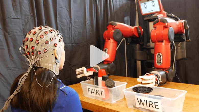 روبوت يقرأ عقول البشر ليعرف متى يخجل أو يفرح