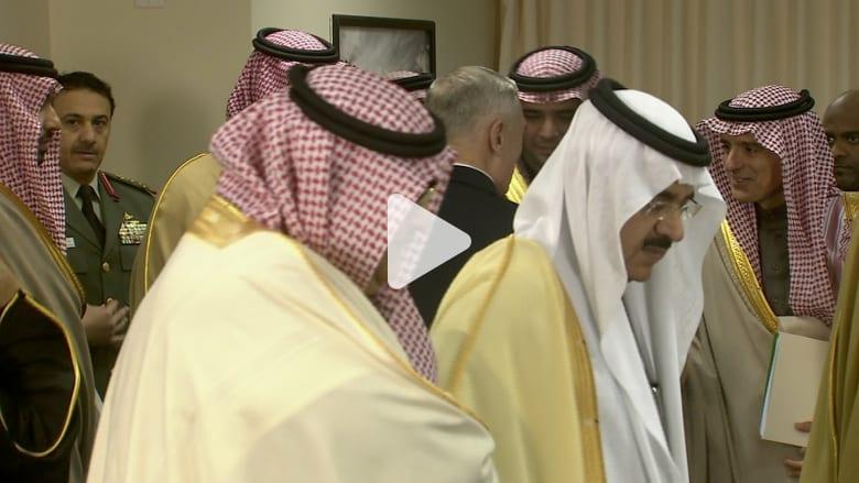 شاهد.. وزير دفاع أمريكا لعادل الجبير: من الجيد رؤيتك حيا الإيرانيون حاولوا قتلك
