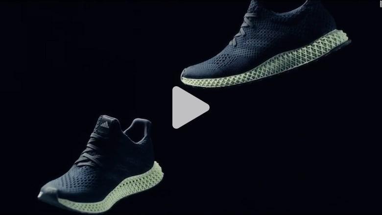 """هل أنت مستعد لارتداء حذاء """"أديداس"""" المصنّع بالطباعة ثلاثية الأبعاد؟"""
