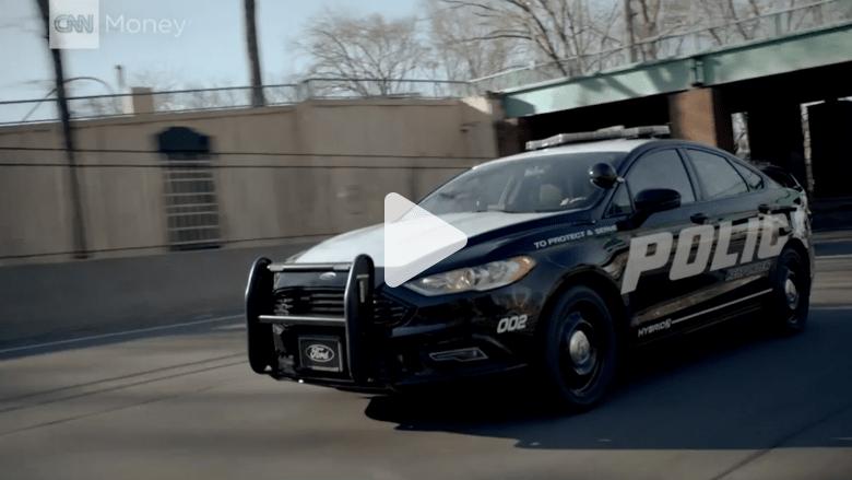 """شاهدوا سيارة """"فورد"""" الجديدة لمطاردات الشرطة السريعة"""