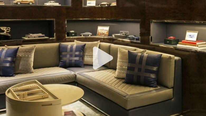 """غرفة فاخرة مستوحاة من سيارة """"بنتلي"""" في فندق في دبي..والليلة بآلاف الدولارات"""