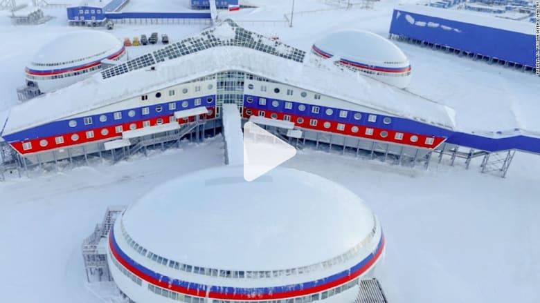 """""""مشروع نفوذ"""".. بوتين يبني قاعدة عسكرية ضخمة في القطب الشمالي"""