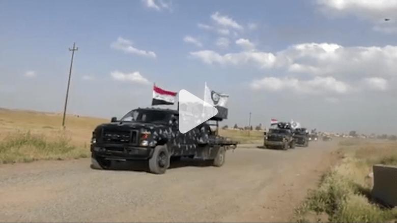 """شاهد.. القوات العراقية تقترب من مسجد """"خطبة البغدادي"""""""