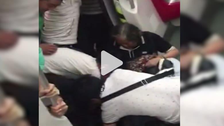 شاهد كيف أنقذ ركاب المترو هذه المُسنّة في الصين