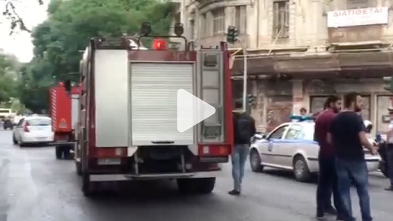 إصابة رئيس وزراء اليونان السابق إثر انفجار مظروف مفخخ
