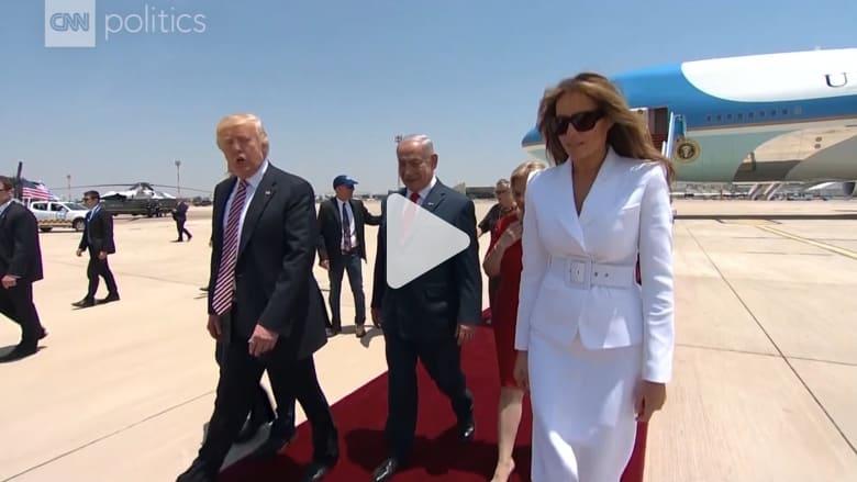 شاهد لحظات شدت الأنظار بزيارة ترامب الخارجية