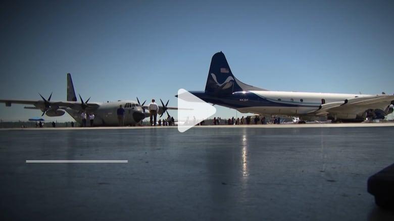 هذه الطائرة تحلق في قلب أخطر الأعاصير