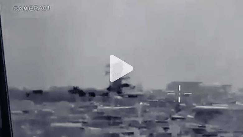 شاهد.. لحظة تفجير مسجد النوري ومنارته التاريخية في الموصل