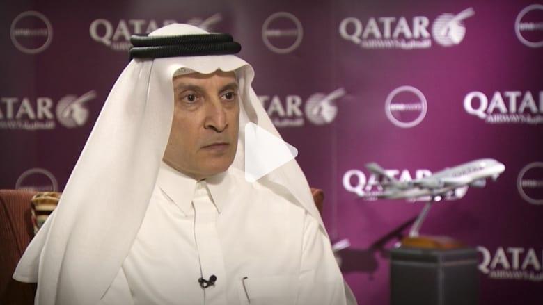 الرئيس التنفيذي لطيران القطرية عن حظر ترامب: إذا استمر الأمر فقد نجد مسافرين بالملابس الداخلية فقط