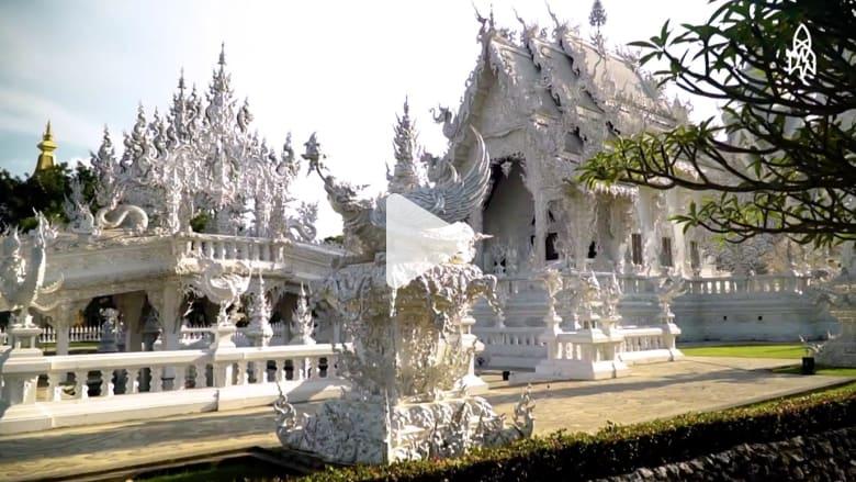 تعرفوا إلى المعبد الأبيض في تايلاند