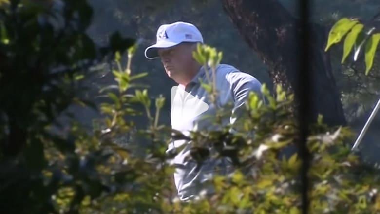 في جولته الآسيوية.. ترامب يلعب الغولف مع رئيس وزراء اليابان