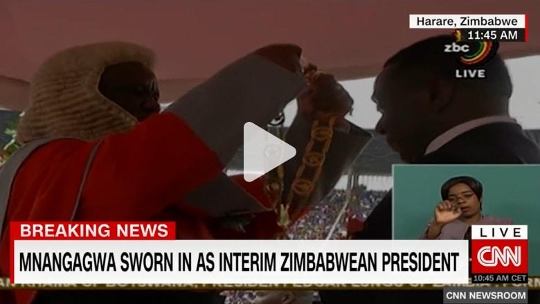 لحظة تاريخية في زيمبابوي.. منانغاغوا يؤدي اليمين خلفا لموغابي