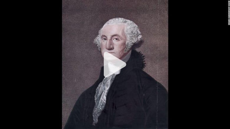 العثور على خصلة شعر تعود لجورج واشنطن داخل كتاب