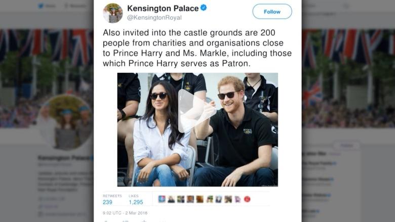 شاهد.. الأمير هاري وميغان يدعوان آلاف العامة لزفافهما في مايو القادم