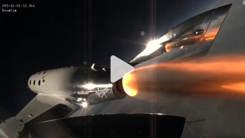 شاهد.. اختبار مركبة أسرع من الصوت لنقل السياح للفضاء