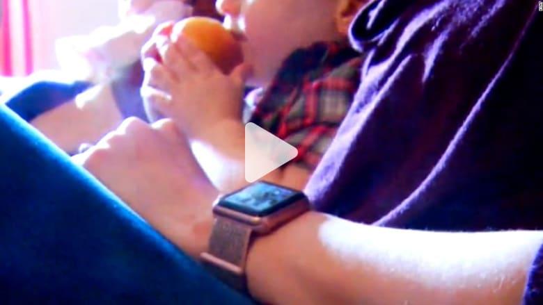 شاهد كيف أنقذت ساعة أبل الذكية حياة امرأة!