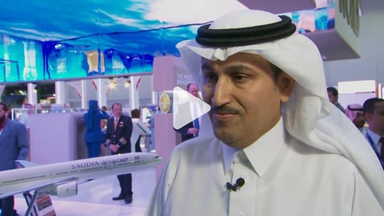 الخطوط السعودية: سنصبح طيران 5 نجوم في 2019