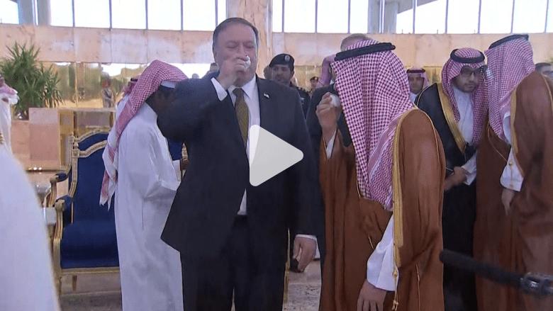 الصور الأولى لوصول وزير خارجية أمريكا الجديد إلى الرياض