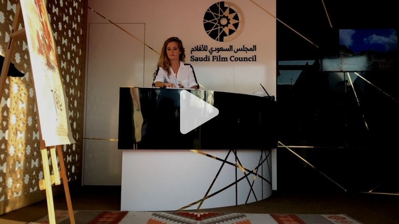 شاهد.. جولة داخل الجناح السعودي في مهرجان كان السينمائي