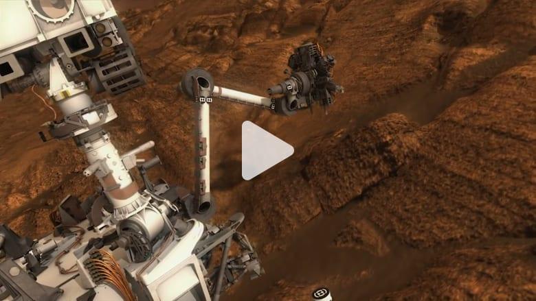 المريخ.. العثور على مواد عضوية تشير لوجود حياة