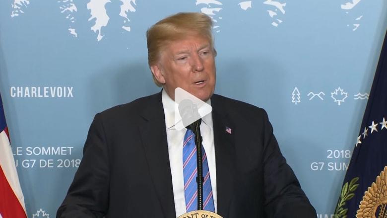 ترامب: سأكون بمهمة سلام.. وأفضل رؤية روسيا بمجموعة G7
