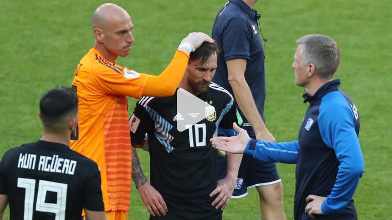 """""""مساكم مونديال"""".. الأرجنتين وقعت بفخ أيسلندا فمن المسؤول؟"""