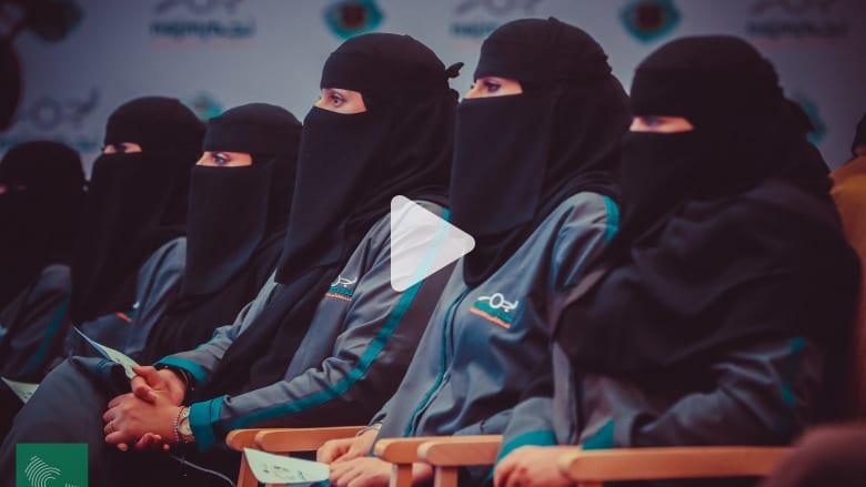 تعرّف إلى أول دفعة من محققات حوادث السير في السعودية