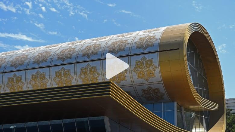 استكشف متحف داخل سجادة ضخمة في أذربيجان