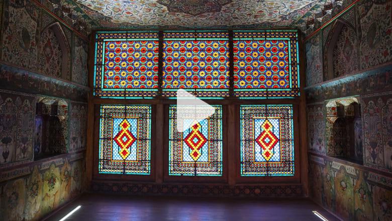 جولة داخل القصر الملكي في شاكي بأذربيجان