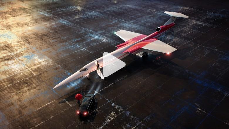 هل تتحقق السرعة والفخامة في هذه الطائرة الخارقة؟