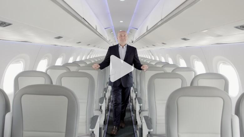 كيف تصمم المقصورات الداخلية للطائرات؟