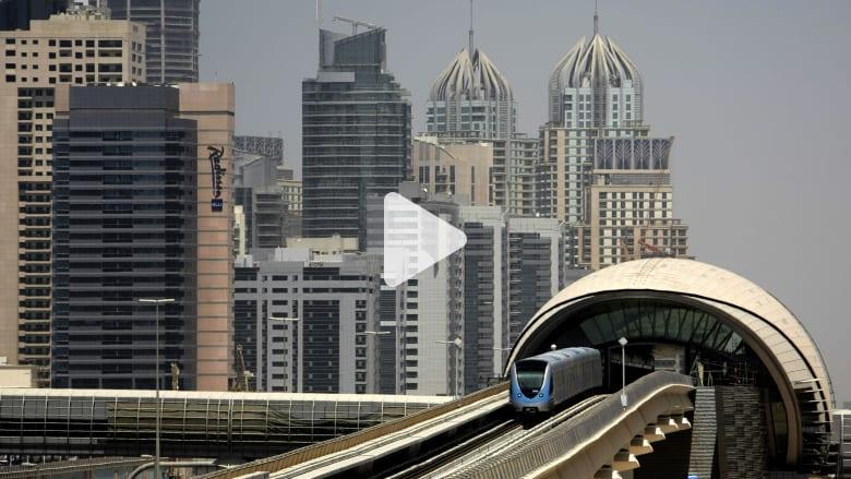 """""""مترو دبي"""".. كل درهم أنفقته الإمارة عاد عليها بـ1.6 درهم في"""