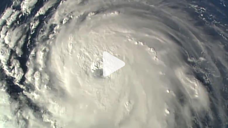 من الفضاء.. شاهد إعصار فلورنس الذي يهدد بعض مناطق أمريكا