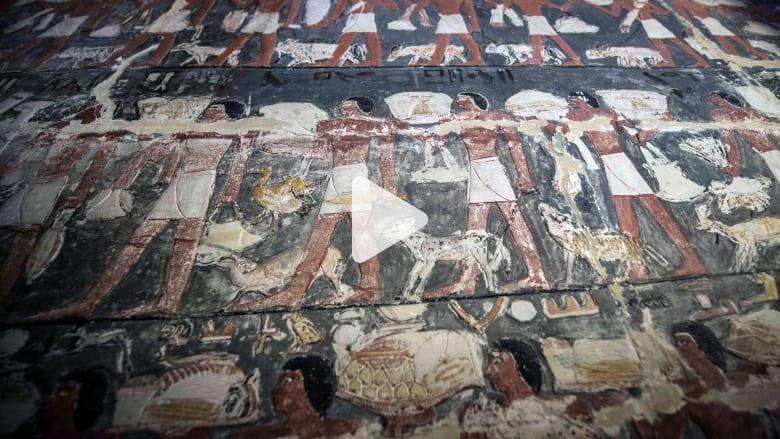 افتتاح مقبرة مصريّة عمرها 4 آلاف عام للجمهور لأول مرة