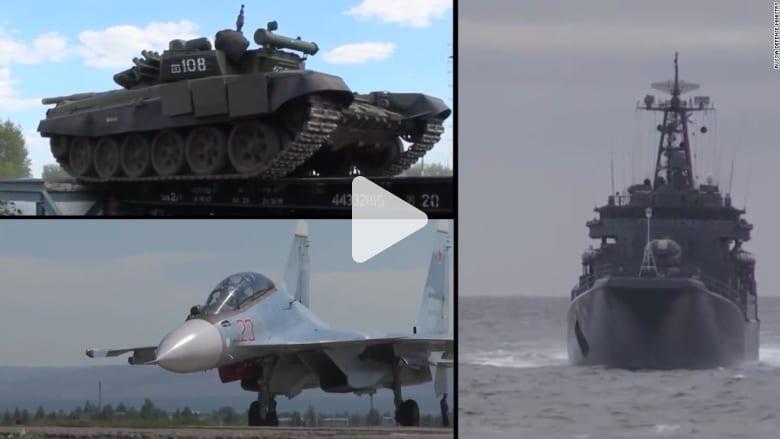 روسيا تنفذ أكبر مناورات عسكرية في تاريخها