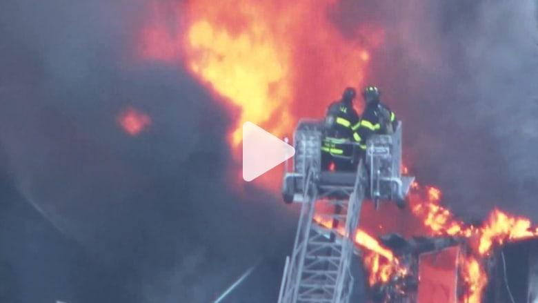 انفجارات وحرائق في 3 مناطق بماساتشوستس