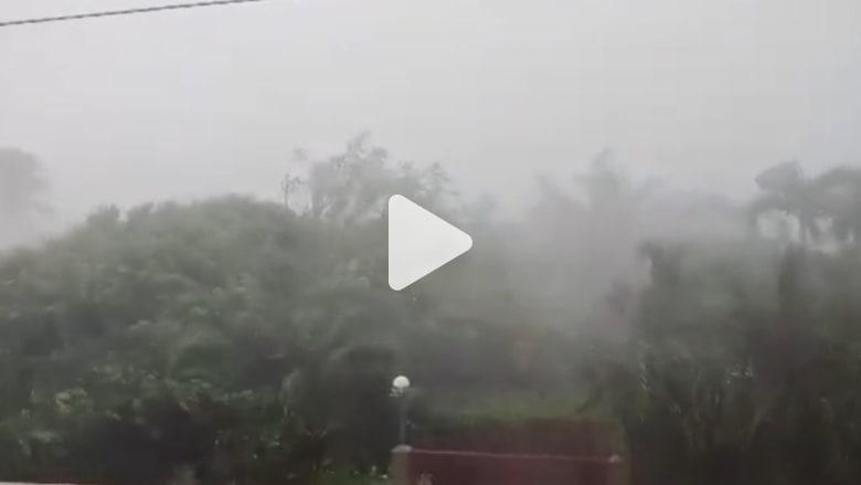 إعصار قوي يهدد حياة الملايين في الفلبين