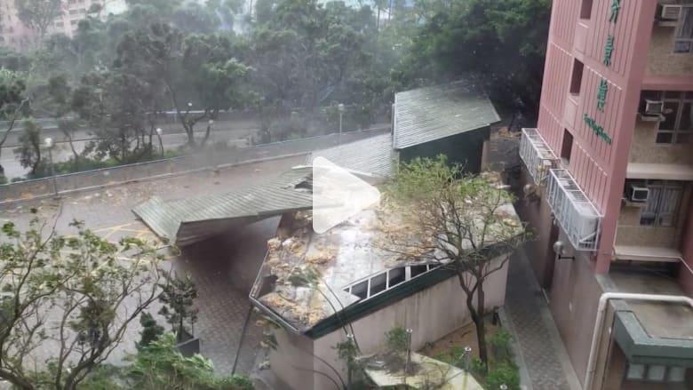 أقوى إعصار في العالم يضرب آسيا.. شاهد آثاره