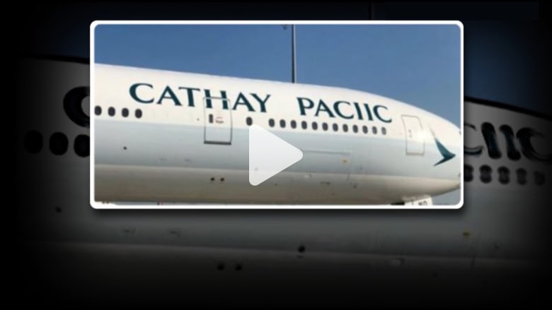 موقف محرج.. شركة طيران تخطيء بكتابة اسمها على إحدى طائراتها